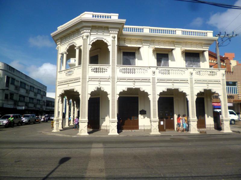 Eines der historischen Gebäude in Silay auf der Insel Negros