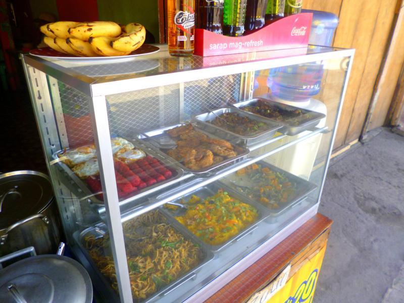 Der Markt von Silay auf Negros in den Philippinen