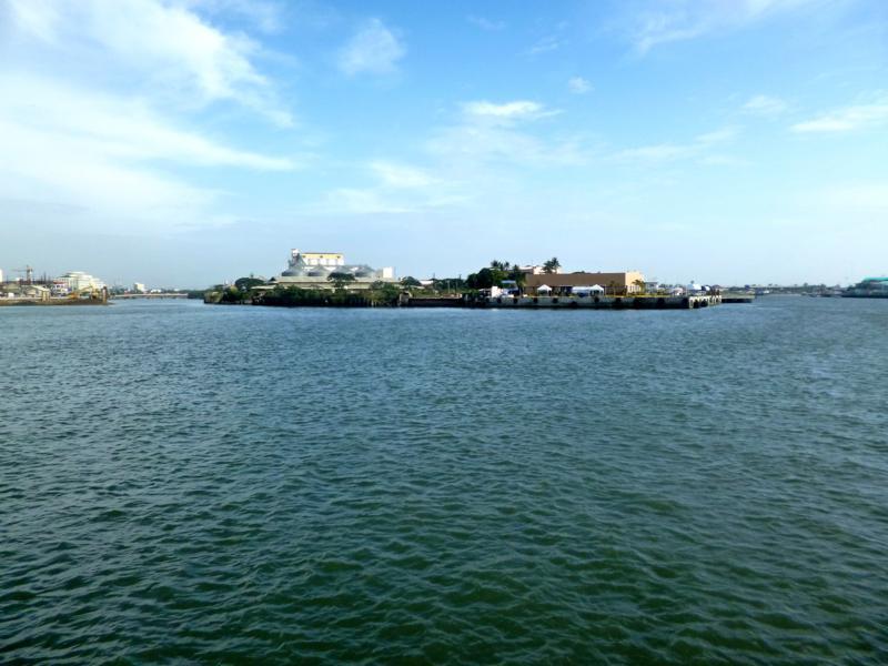 Die Stadt Iloilo auf der Insel Panay