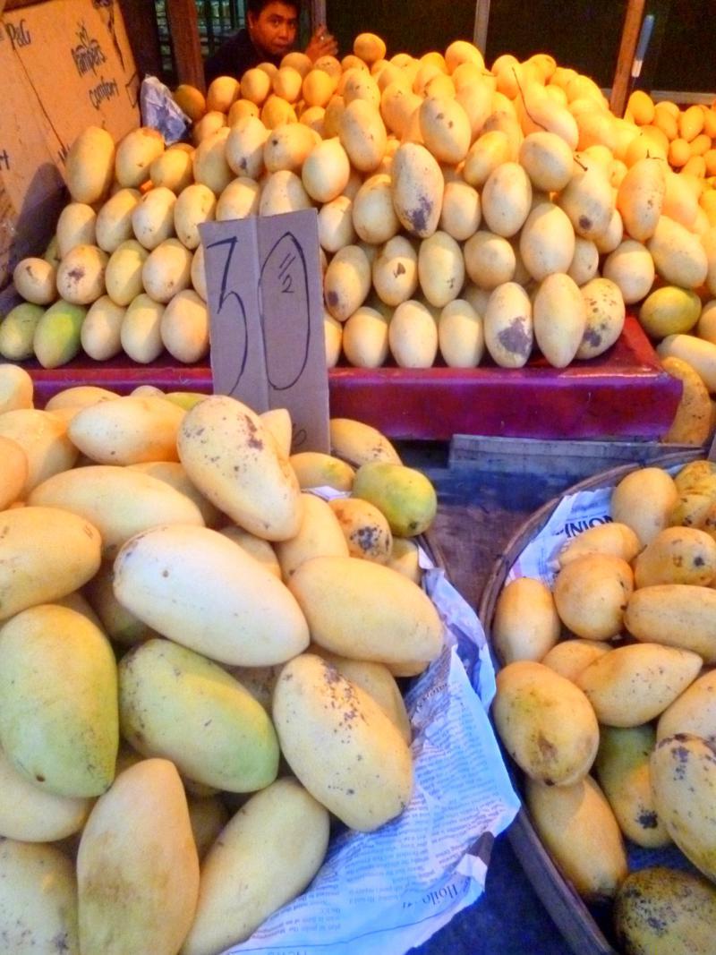 Mangos von der Insel Bantayan