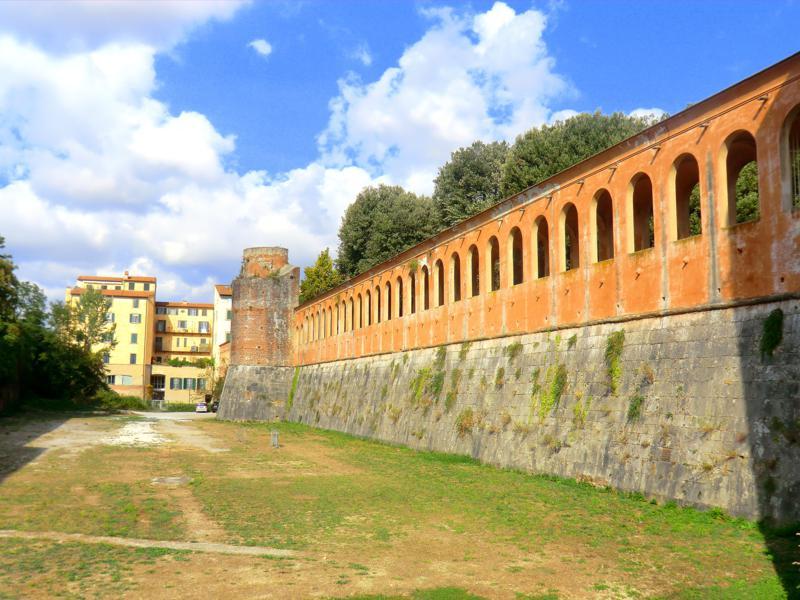 Die Zitadelle von Pisa