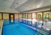 Das Wellnessbereich im Hotel Konradowka in Karpacz, zu deutsch Krummhübel