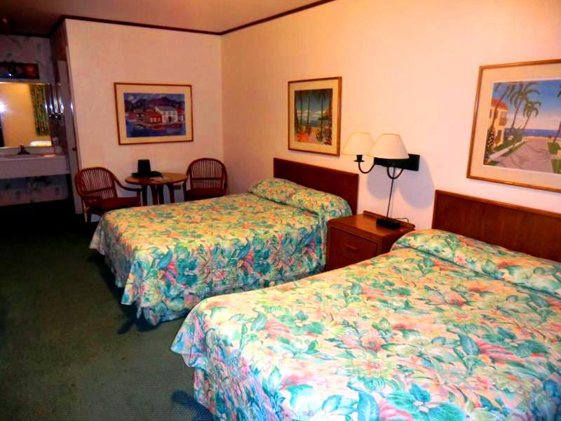 Unser Zimmer im Parador Perichis Hotel an der Westküste von Puerto Rico