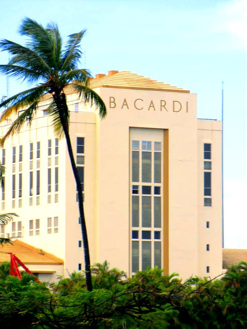 Die Bacardi Rum Destillery in Puerto Rico