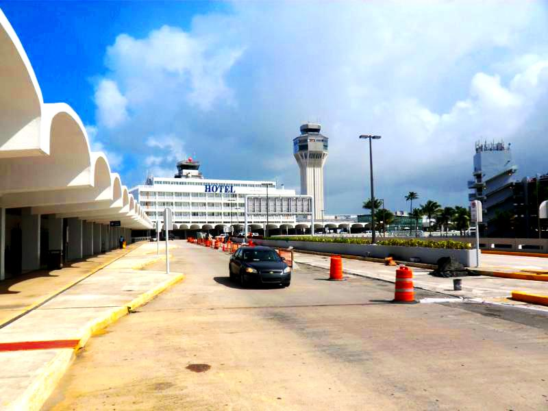 Der Luiz Munoz Marin International Airport von Puerto Rico