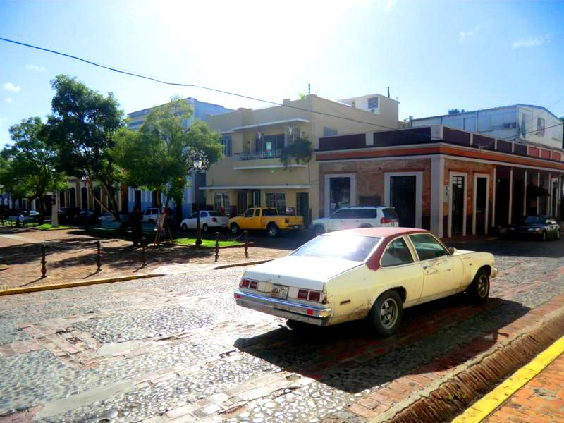 Die historischen Altstadt van San German im Südwesten von Puerto Rico