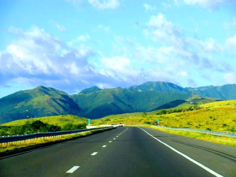 Der Highway 52 von Ponce nach San Juan