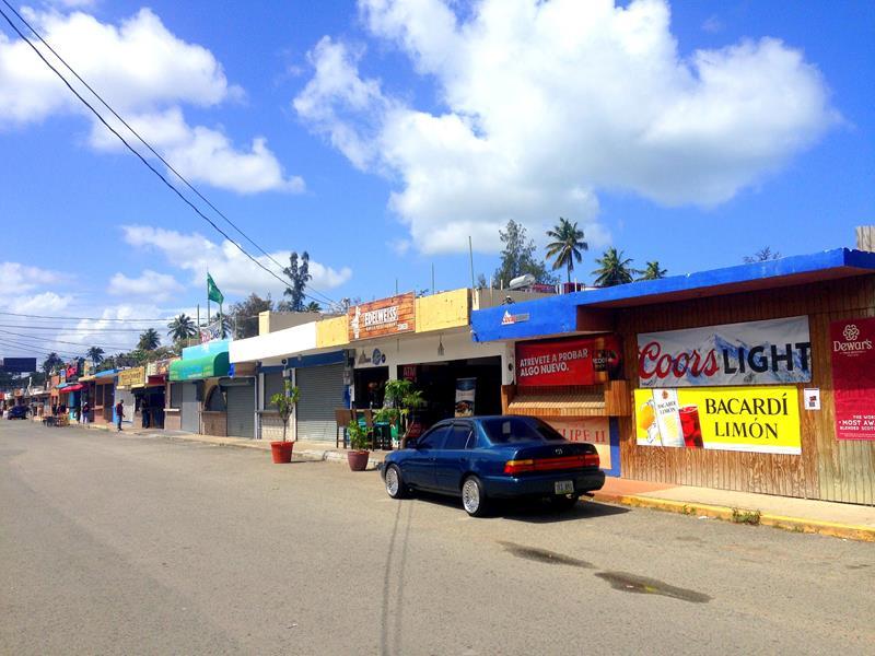 Los Kioskos de Luquillo im Nordosten von Puerto Rico