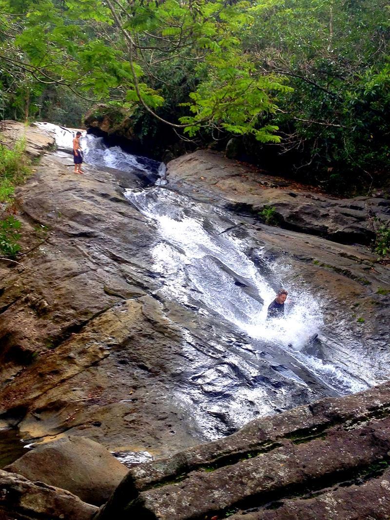 Der Las Paylas Wasserfall im Norden von Luquillo kurz vor El Yunque