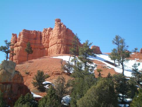 Red Canyon, beeindruckendes Naturschauspiel direkt am Highway