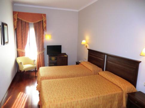Unser Doppelzimmer im Hotel Maestranza in Ronda
