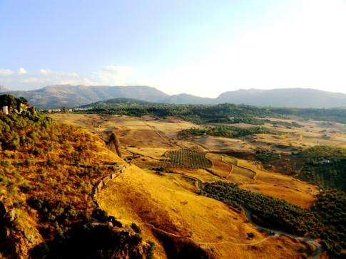 Ausblick vom Park Alameda del Tajo