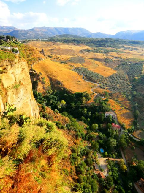 Kleiner Park mit spektakulärer Aussicht: der Alameda del Tajo in Ronda