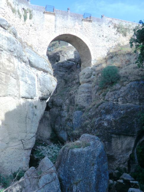 Brücke über die Schlucht von Ronda