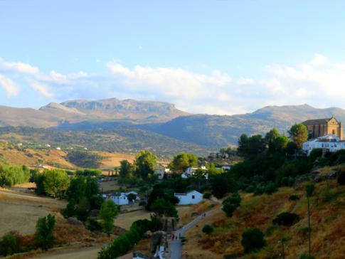 Atemberaubende Ausblicke auf das Umland von Ronda