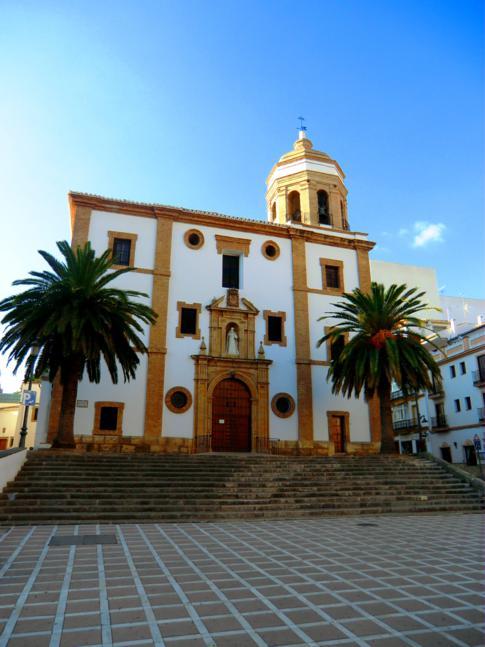 Die Altstadt von Ronda: hier die Iglesia de la Merced