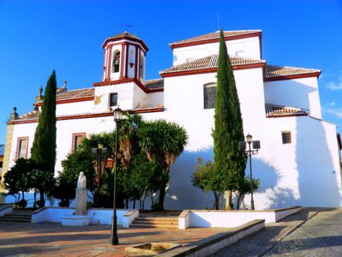 Die Altstadt von Ronda: hier die Iglesia de Santa Cecilia