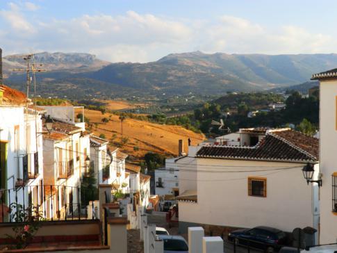 Die Altstadt von Ronda: hier die Calle Real