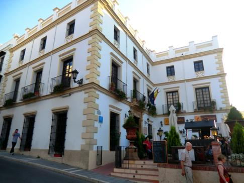 Die Altstadt von Ronda: hier das Hotel el Poeta