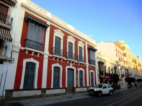 Das schöne Postamt von Ronda