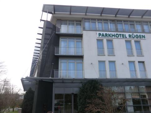Das Parkhotel Rügen im Ort Bergen auf Rügen