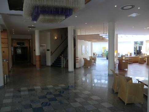 Lobby des Parkhotel Rügen