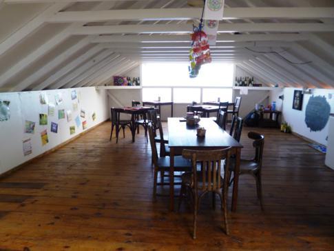 Das kleine Restaurant der El Momo Cottages