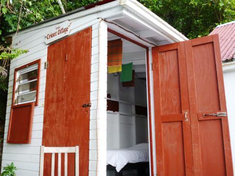 Mein Cricket Cottage auf Saba