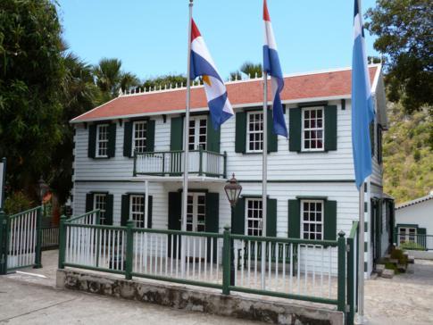Historisches Gebäude in der Hauptstadt The Bottom