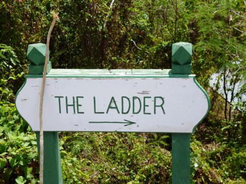 The Ladder, kurzer, aber anstregender Hike in die Ladder Bay