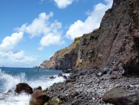 Ladder Bay auf Saba