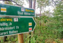 Die Wanderung entlang des Malerwegs auf den Rauenstein