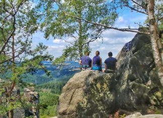 Wanderung entlang der Oberen Affensteinpromenade – die geheime Promenade der Sächsischen Schweiz