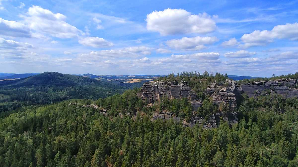 Die Obere Affensteinpromenade: eine tolle Wanderung durch die Sächsische Schweiz und das Elbsandsteingebirge