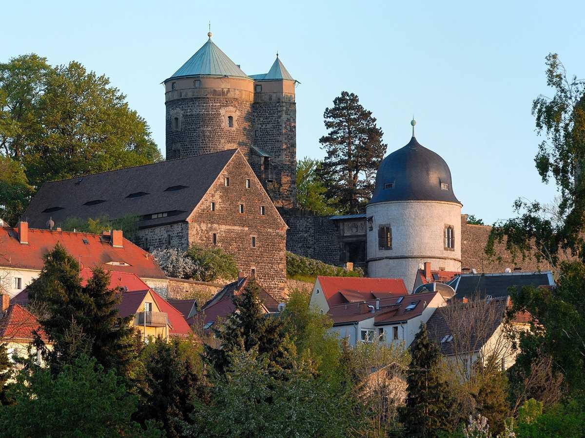 Die Burg Stolpen, eine der Sehenswürdigkeiten in der nördlichen Sächsischen Schweiz