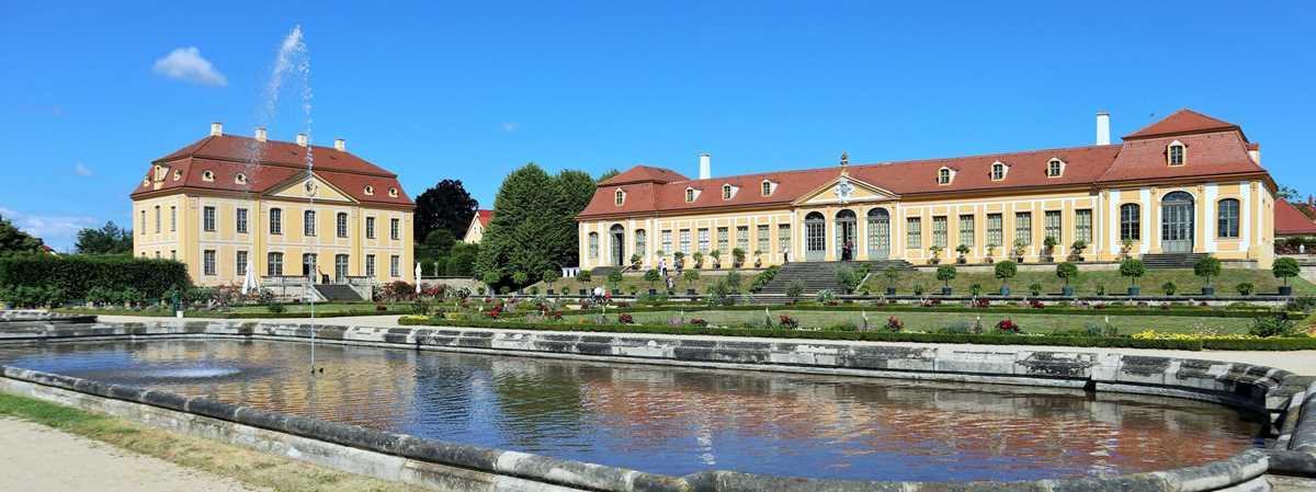 Der Barockgarten Großsedlitz, eine der historischen Sehenswürdigkeiten der Sächsischen Schweiz