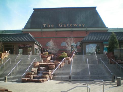 The Gateway, großes Shoppingzentrum direkt in Downtown Salt Lake City