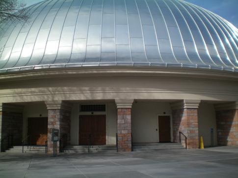 Tabernacle, Gotteshaus direkt neben dem Salt Lake Tempel