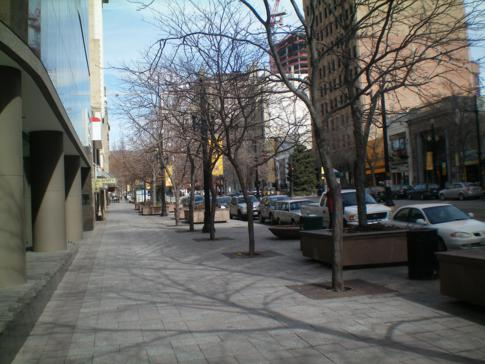 Die Main Street von Salt Lake City
