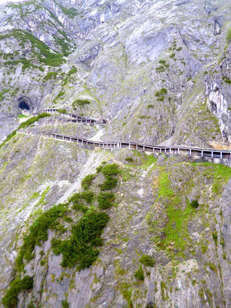 Die Eisriesenwelt in Werfen im Salzburger Land