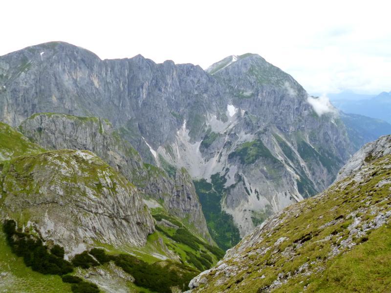 Der Eiskogel im Tennengebirge im Salzburger Land