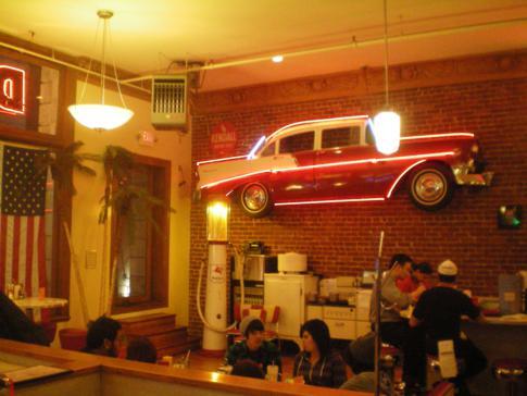 Ein typischer Diner in der Nähe des Union Square