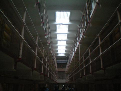 Das Gefängnis von Alcatraz