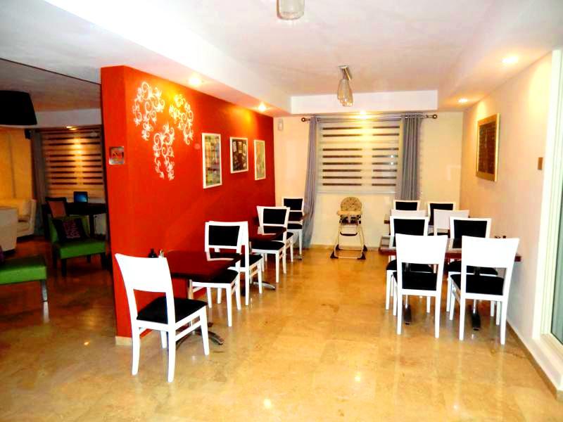 Luxuriöses Loft als Gemeinschaftsraum in den Ciqala Luxury Suites