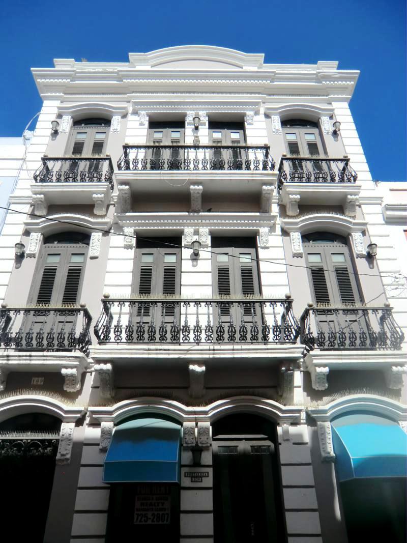 Die bunten Häuser in der Altstadt von San Juan, zugleich UNESCO-Weltkulturerbe