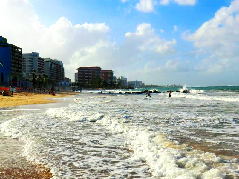 Condado Beach, der Stadtstrand von San Juan