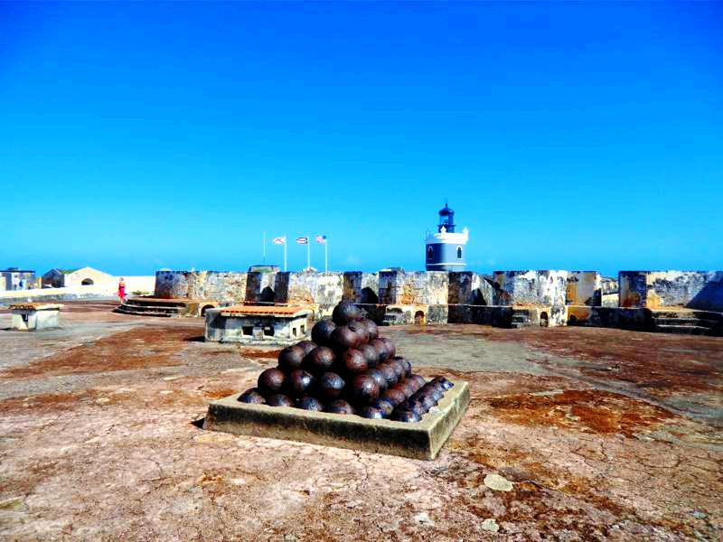 Das Castillo San Felipe del Morro, Verteidigungsanlage von San Juan
