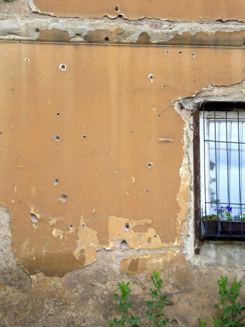 Zeitzeugen des Bosnienkrieges: Einschusslöcher überall