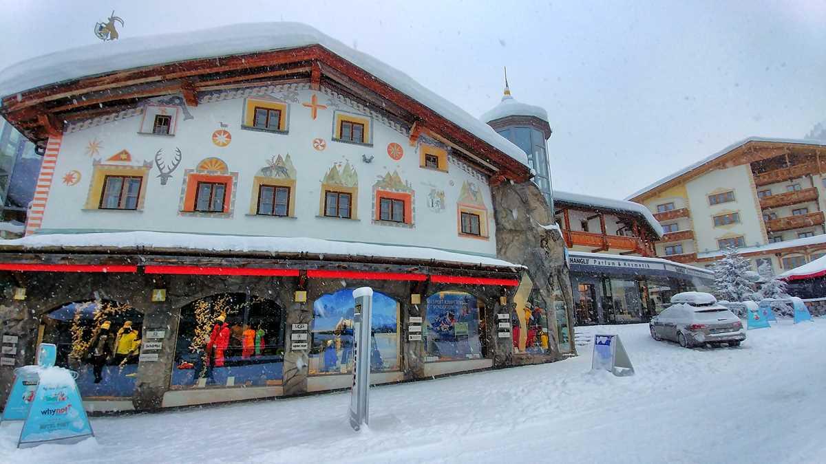 Ausflug nach Samnaun im Winter