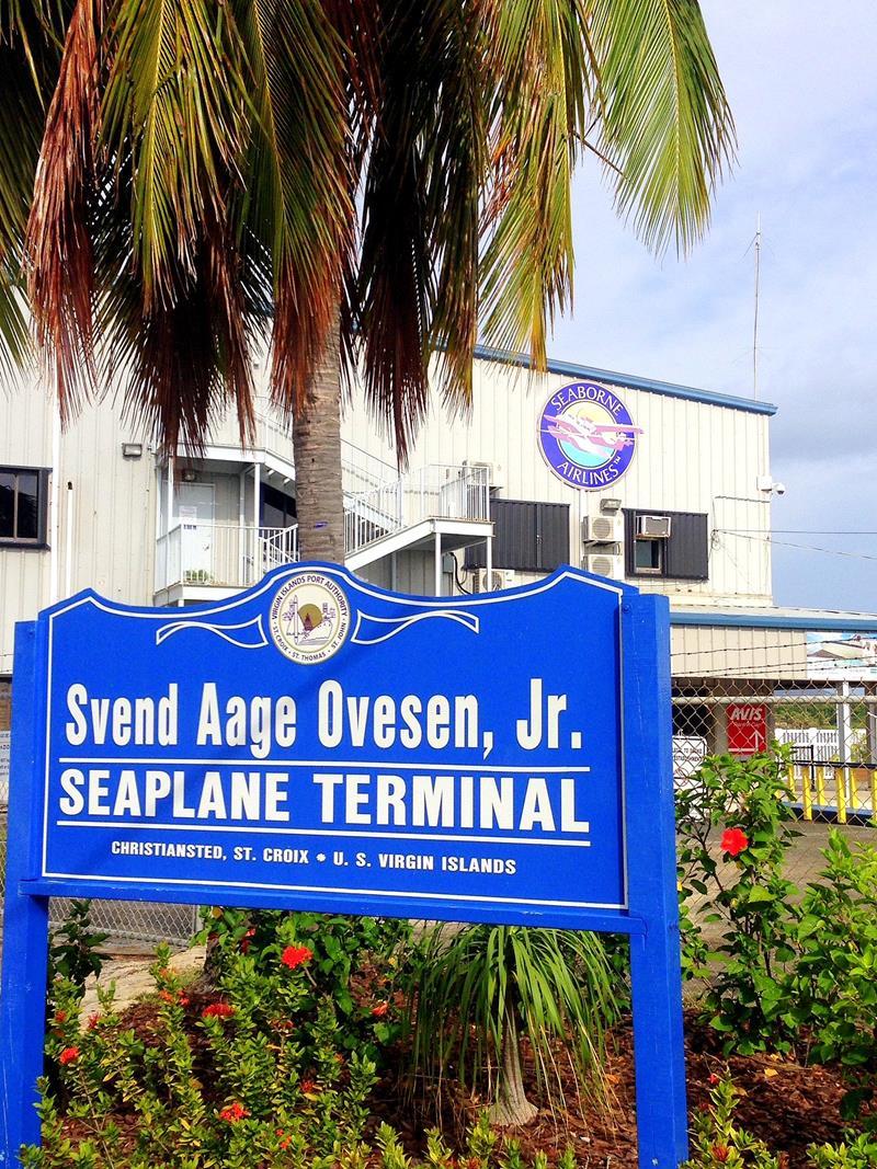 Das Seaplane Terminal von Seaborne Airlines auf St. Croix